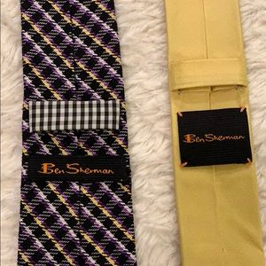 Ben Sherman tie bundle (2 ties)